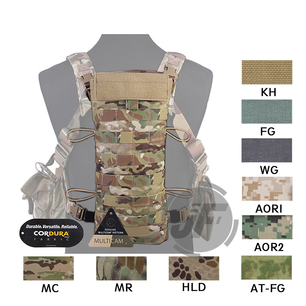 Emerson Tactical LBT-2649E Style 2.5L Hydration Back Rear Panel Pouch EmersonGear Hunting MOLLE Water Bladder Bag Carrier Holder convex pouch string design voile panel t back