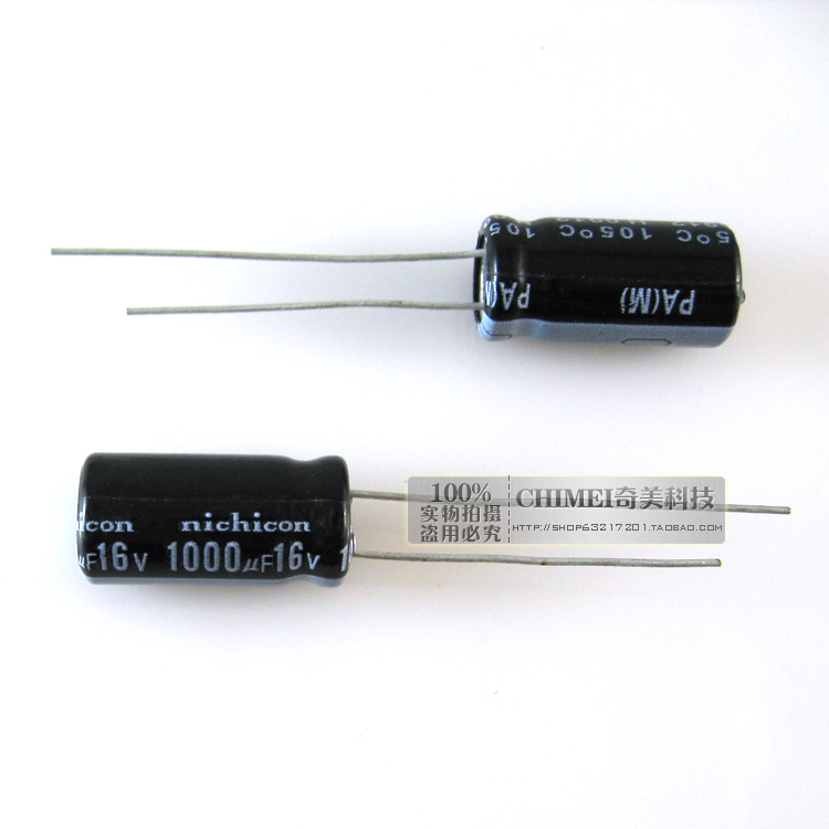 Electrolytic Capacitor 1000UF 16V Volume 8X12MM Capacitor 8 * 12 Mm