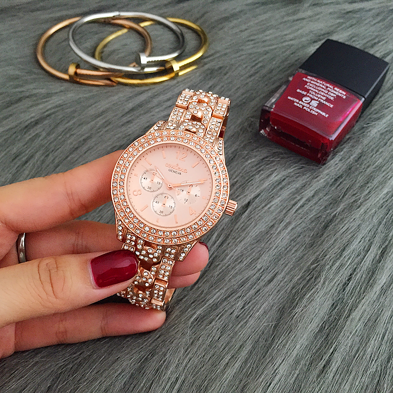 Fashion brand women watches leather strap casual lady wristwatches NO.2Fashion brand women watches leather strap casual lady wristwatches NO.2