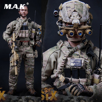 For Collection 1/6 Scale Full Set Soldier New M010 US Army New Seal Team Six Solider Action Figure Model Toys for Fans Gifts in stock 1 6 scale zh009 ancient roman soldier full set model action figure for fans gifts with box