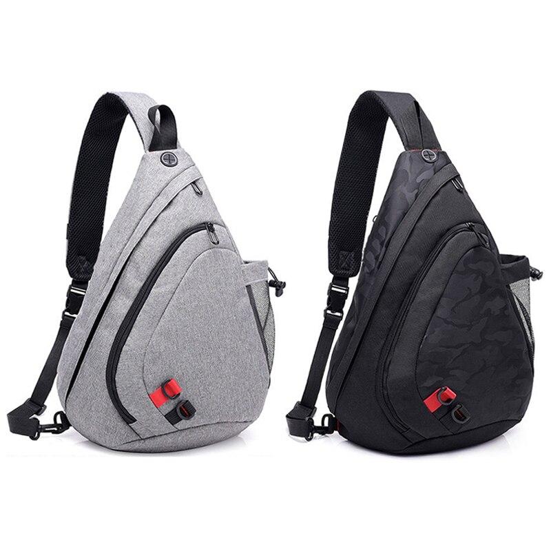um ombro sling back pack sacos crossbody