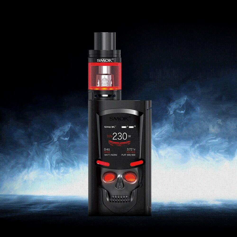 Cigarette électronique Vaporisateur Boîte Mod Kit SMOK S-Priv 230 w Vaporisateur E Narguilé Stylo VS SMOK Alien AL85 v8 Kit S194