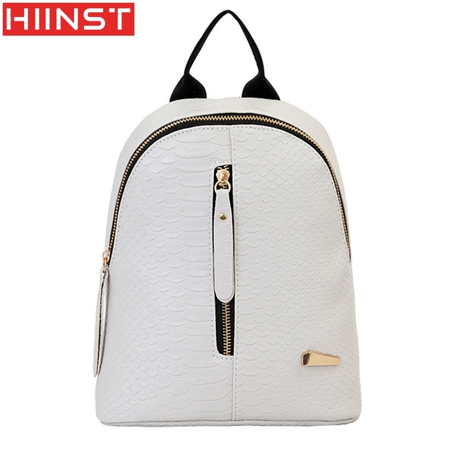 Aliexpress.com : Buy Backpack Women Leather Backpacks Schoolbags ...