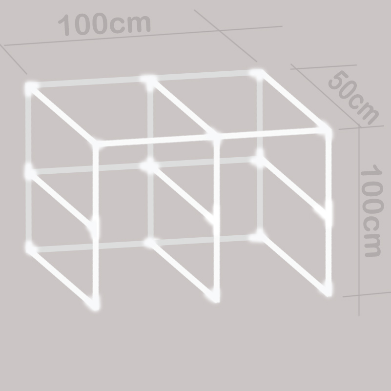 Event & Party Conscientious Home & Garden Shelf Cabinet 100x50x100cm Dj Table Cupboard Bracket Stand Normal To Strong Quality Optional