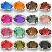 50 г здоровый естественный минеральная слюда Косметическая пудра DIY для Мыло краситель для макияжа Мыло Косметическая пудра Бесплатная доставка