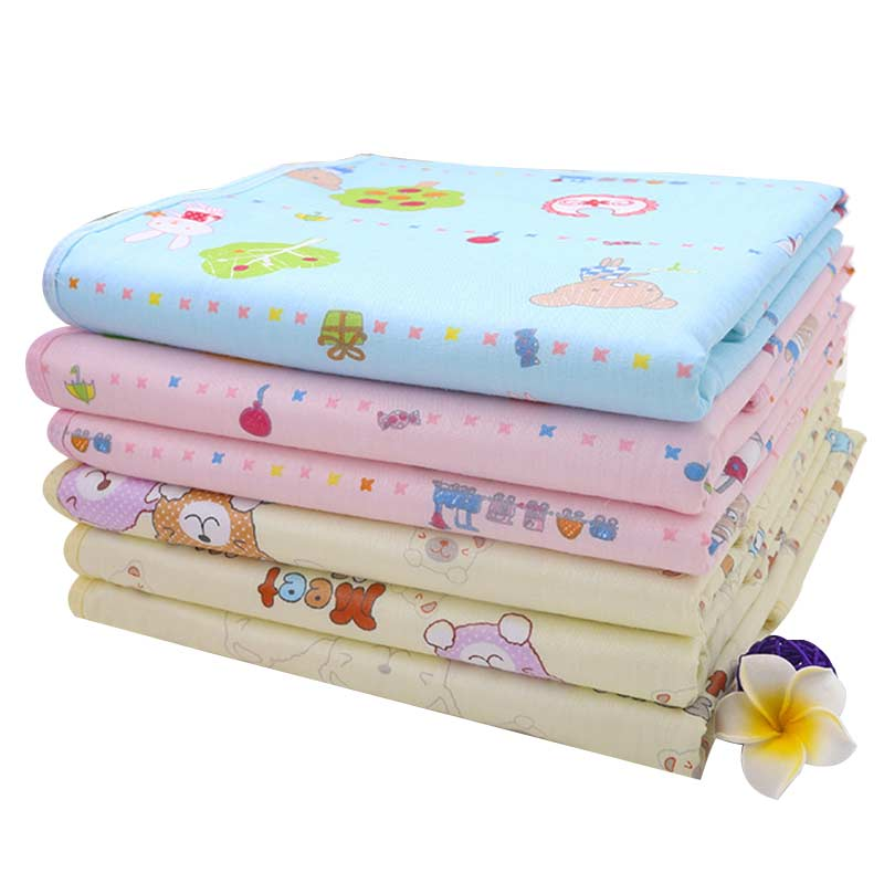 2017 New 1 Pcs High Quality Portable Durable Urine Mat Waterproof Baby Infant Bedding Changing Nappy Cover Pad Three Color