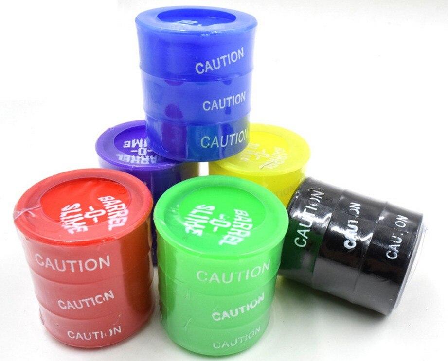 New Barrel Slime Fun Shocker Broma Gag Prank Juguete de regalo Cubo - Nuevos juguetes y juegos - foto 4