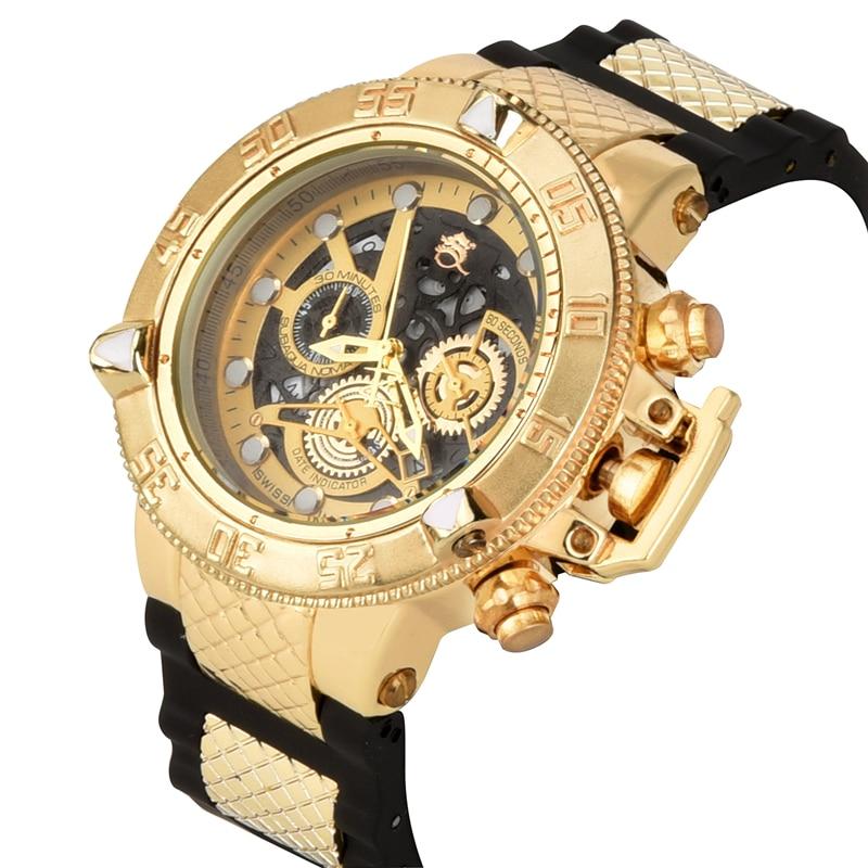 2019 New Style Unbeaten Model Super Rotating Dial Stopwatch Luminous Calendar Multifunction Men's Quartz Watch