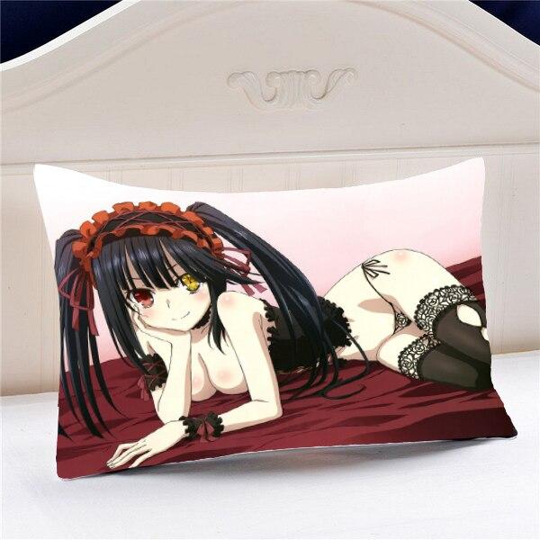 Datum A Live Anime Tokisaki Kurumi 45 * 35CM Povlak na polštář # 40557