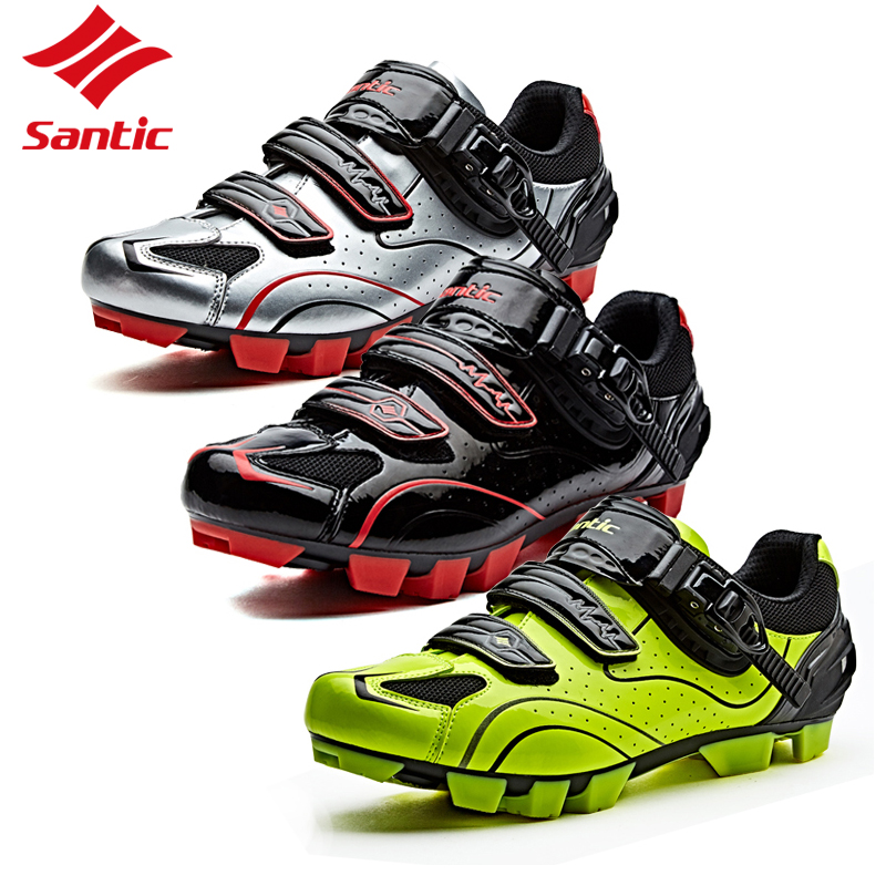 Santic Men Cycling Shoes Professional Self-Locking Bicycle Racing Team Athletic Sneakers Road Bike sapatilha ciclismo 2018 santic new design cycling shoes men outdoor road bike shoes self locking shoes non slip bicycle shoes sapatos with 3 colors