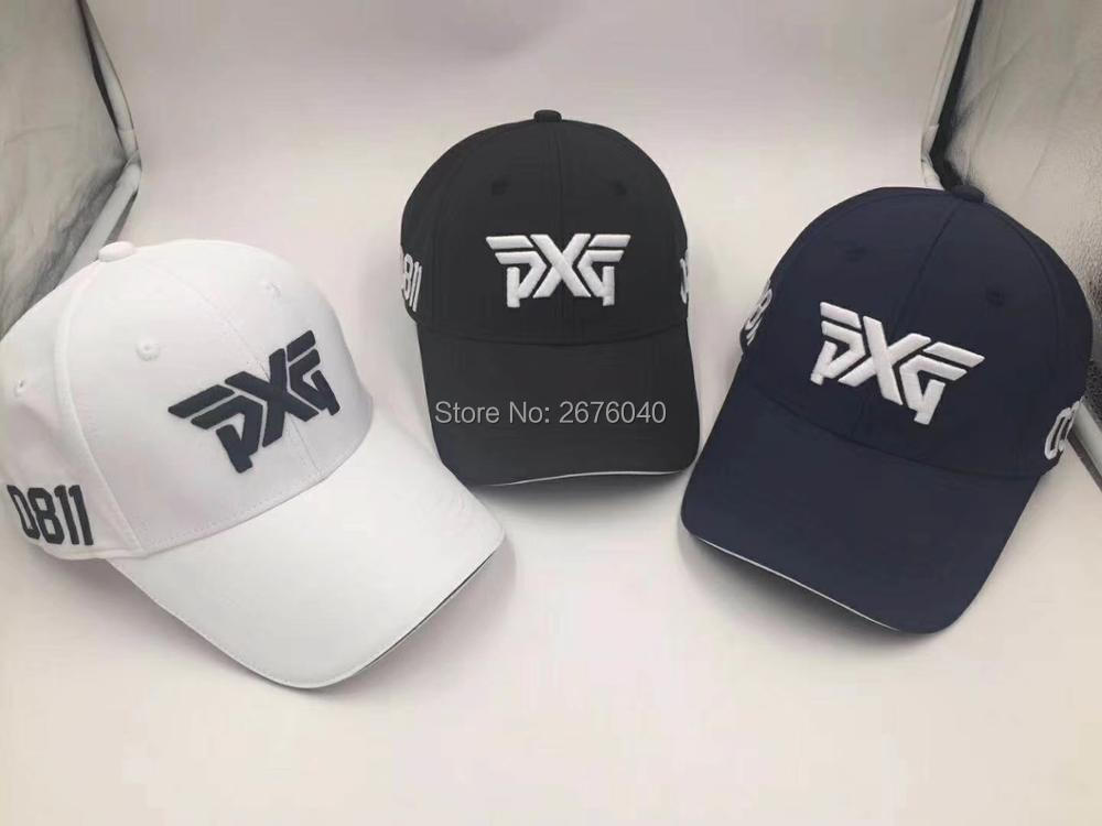 Golf hat PXG golf cap Baseball cap Outdoor hat new sunscreen shade sport golf hat adjustable baseball hat fashion sunshade cap with tesla logo black sport hat for tesla model s x universal cap for men women