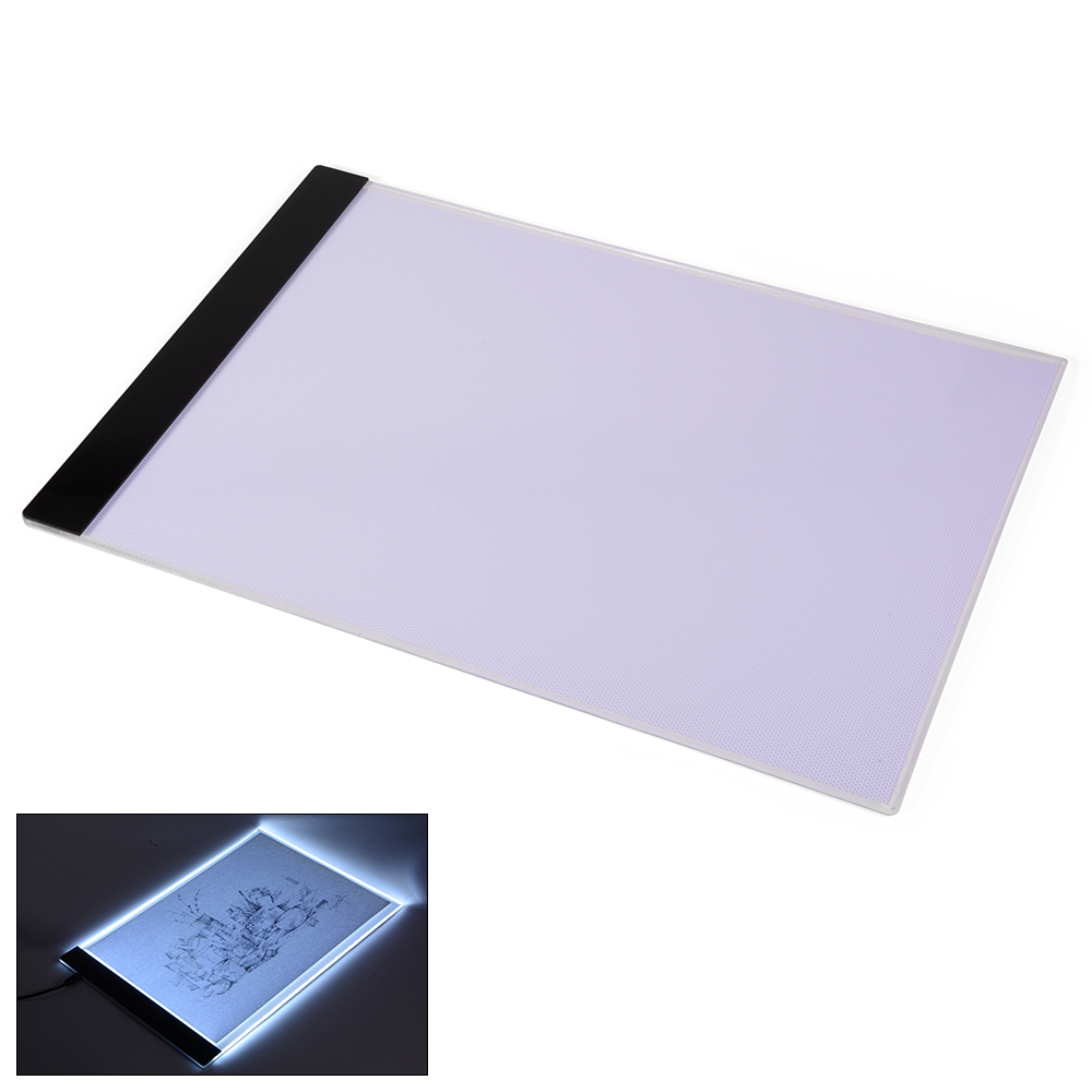 Ongekend 1 Set A4 Tracing Tekentafel LED Kunstenaar Dunne Art Stencil Board UD-07