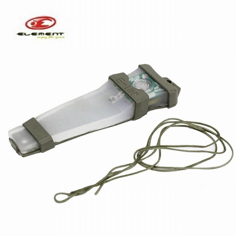 Prix pour 2 pcs/lot Élément E-lite Blink Signal Lumineux Deux Mode Sport En Plein Air Tactique Étanche Casque Léger Survie Lampe pour NVG Utilisateur
