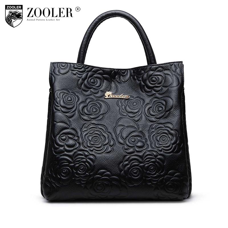 ZOOLER Brand Fashion Bags genuine leather bag elegant handbag Luxury women leather handbags bolsa feminina 1002 zooler brand fashion bags genuine leather bag elegant handbag luxury women leather handbags bolsa feminina 1002