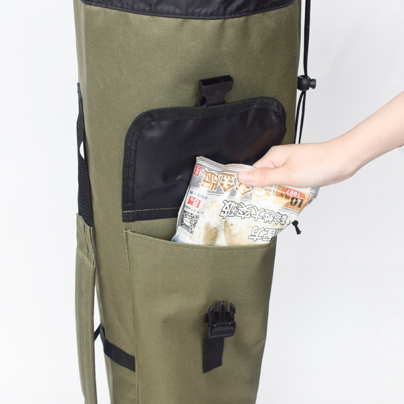 Image 5 - Fishing Portable Multifunction Nylon Fishing Bags Carrier Rod Case Fishing Tackle Tools Storage Traveling Bag-in Fishing Bags from Sports & Entertainment