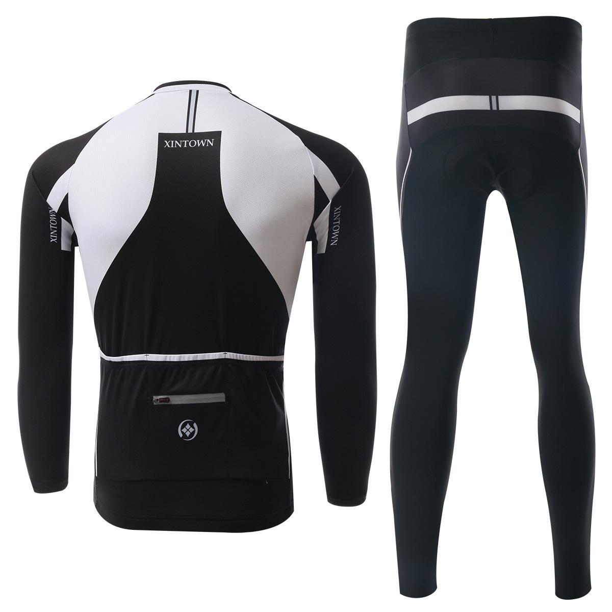BOODUN Loong As White Riding Clothes Long Sleeve Bicycle Serve Catch Down Windbreak Keep Warm Function Underwear