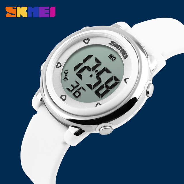 US $11.62 30% OFF|SKMEI Children LED Digital Watch Relogio Feminino Sports Watches Kids Cartoon Jelly Relojes Mujer 2018 Waterproof Wristwatches in