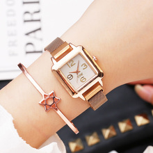 2019 New Fashion Luxury Ladies Dress Watch Rose Gold Casual