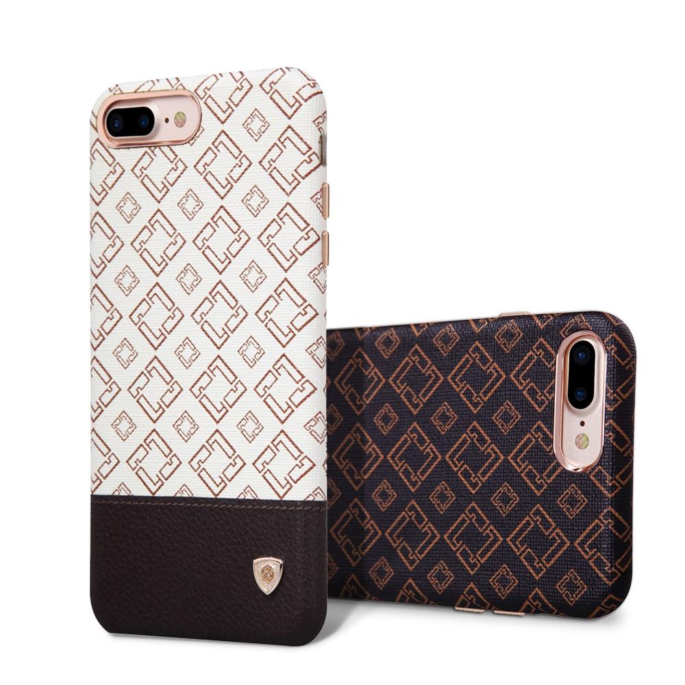 Цена за Милый для iPhone 7 Plus чехол Nillkin Винтаж Кожа PU Жесткий задняя крышка для iPhone 7 Plus чехол 5.5 дюймов Fit автомобильный держатель Магнитный