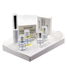 Funmix Mini Eyelash Perming Kit Professional Cilia Extension Perm With Rods Glue Y-shape Brush Makeup Tools