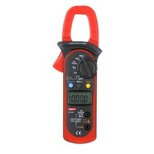 цена на UNI-T UT203 400A AC DC Digital Clamp Meter Resistance / Frequency Test Duty Cycle Relative Measurement Digital Hold Auto Shutdow