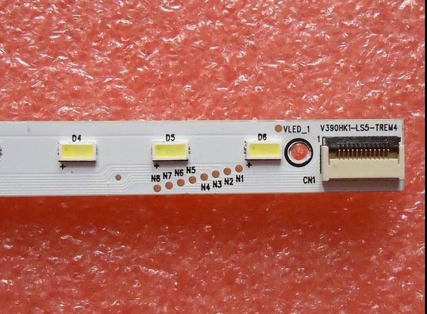 39E65SG  LED Backlight    4A-D069457 V390HK1-LS5-TREW4 V390HK1-LS5   Article  Lamp    1pcs=48led  495mm