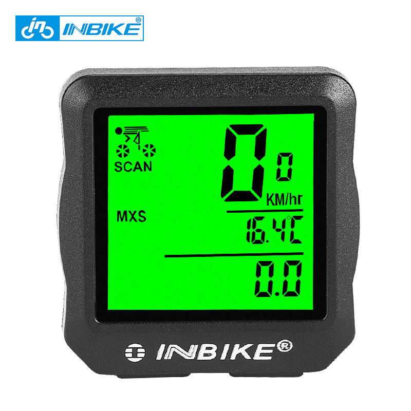 INBIKE Waterproof Bike Computer Digital Speedometer Cycle Velo Computer Odometer with Backlight Bicycle Stopwatch IC528 цены онлайн