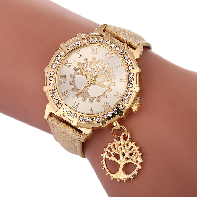 2020 Watch New Speed Sell Tong Like Hot Cakes On The Fashion Female Table Model Of Tree Of Life Pattern