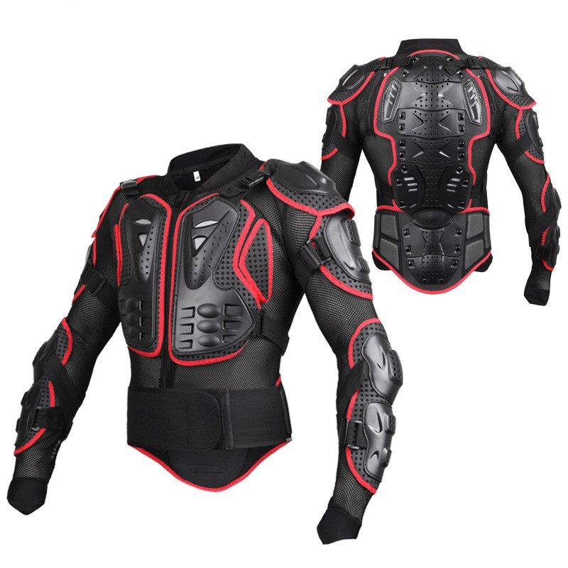 CUMVERHAN Motorcycle Armor Protector Motocross Off Road Chest Body Armour Protection P1460 Jacket Vest Clothing Protective Gear