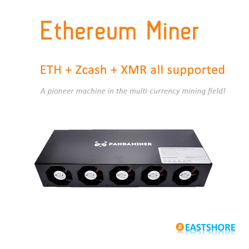 [SOLD OUT] PandaMiner 230MH Ethereum GPU Miner ETH Zcash XMR Supported Newest Ether Miner For Ether Zcash Mining
