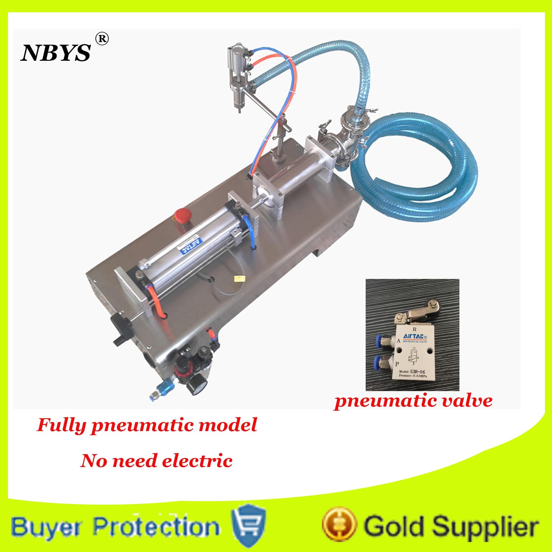 Free Shipping fully pneumatic filler liquid or paste filling machine, pneumatic, semi auto filler, single head liquid filler small bottle filling machine