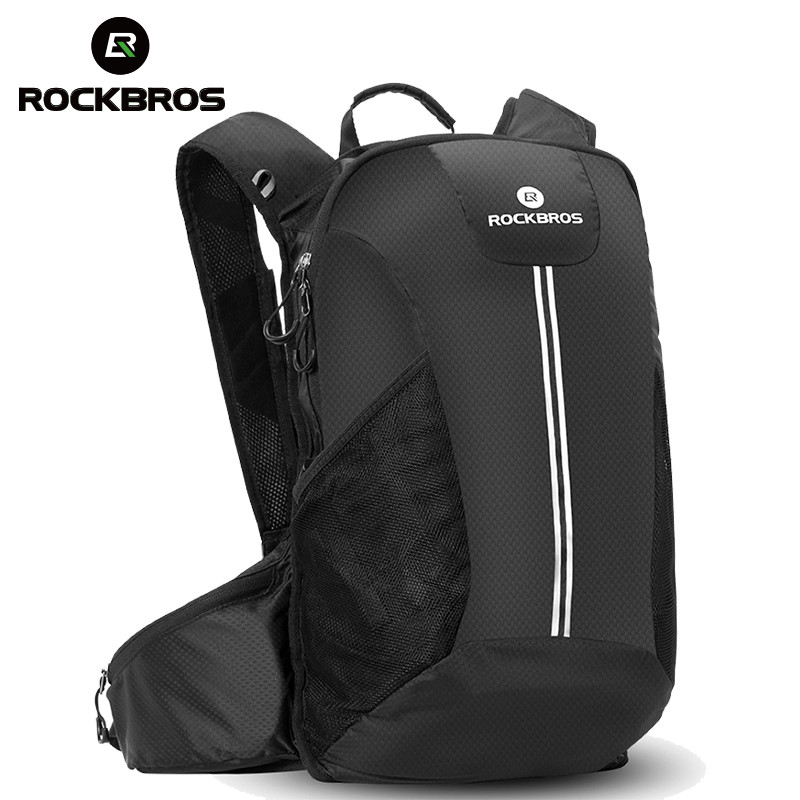 ROCKBROS Cycling Backpack Bicycle Rainproof Sport Bags Camping Outdoor Traveling Hiking Bags Breathable High Capacity Backpack