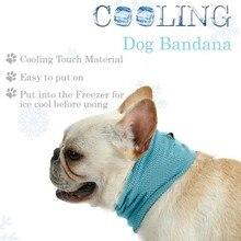Hot Sale Summer Cooling Pet Dogs Bandana Dog Scarf Bulldog Towel Wrap Collar High Quality