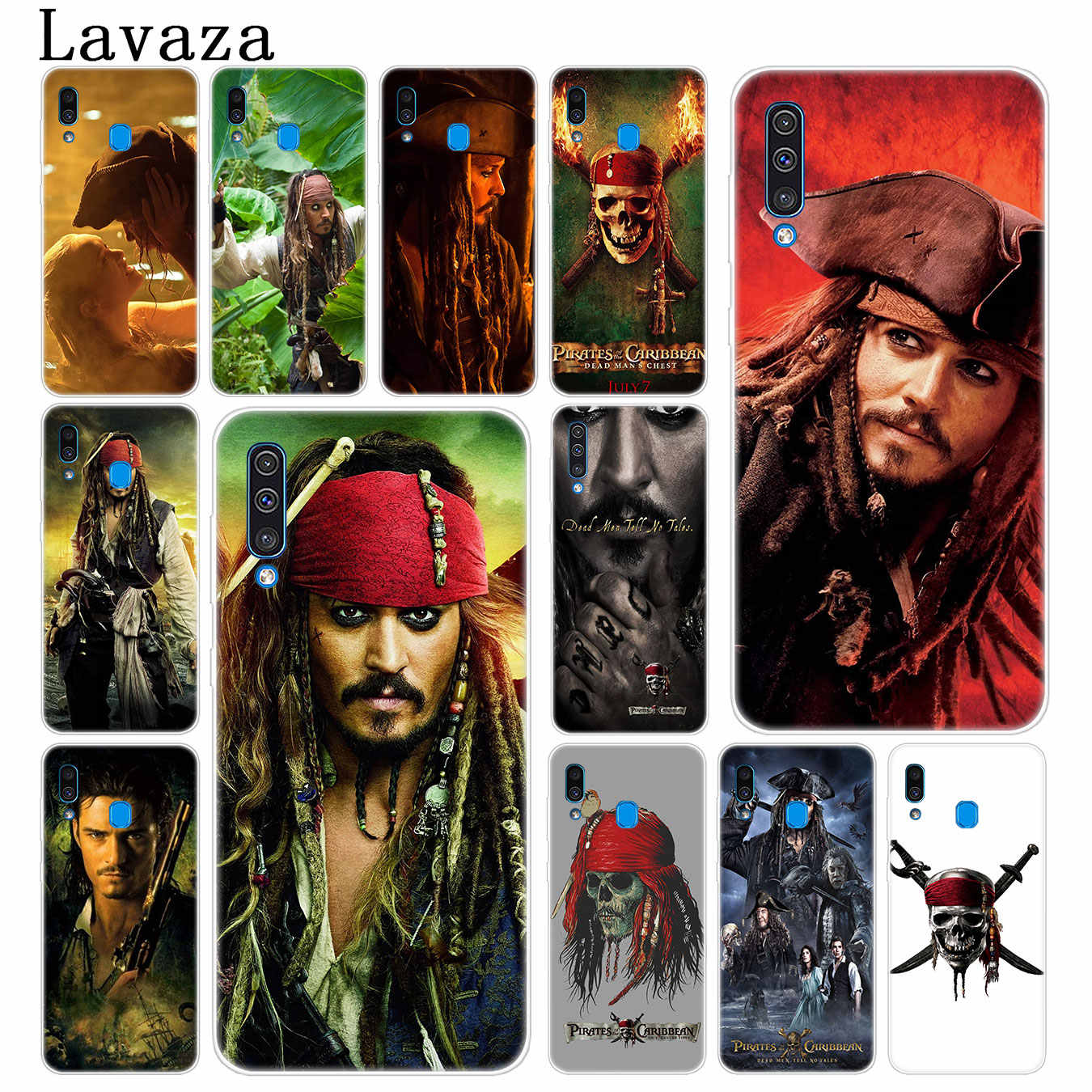 Lavaza Pirates Of The Caribbean Johnny Depp Telefoon Case Voor Samsung Galaxy A70 A60 A50 A40 A30 A20 A10 M10 m20 M30 M40 A20e Cover