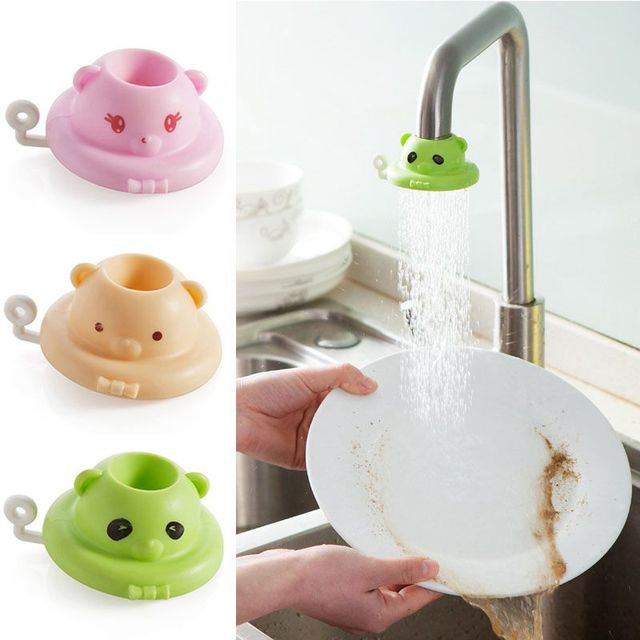 Cute Bathroom Faucet Extender For Toddler Kids Hand Washing Faucet Baby Child Hand Wash Helper Bathroom Sink Baby Bath Toys