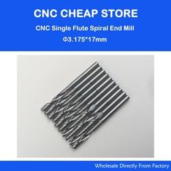 Free shipping 10 pcs carbide endmill single flute spiral cnc router bits 3 175 x 17mm.jpg 250x250
