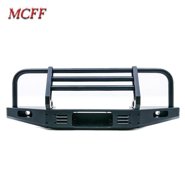 Universal Metal Front Anti collision Bumper For 1/10 RC Crawler TRX4 Defender Bronco Axial Scx10 90046 90047