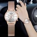 MEGIR брендовые роскошные женские часы модные кварцевые женские часы спортивные Relogio Feminino часы наручные часы для влюбленных подруг 2011
