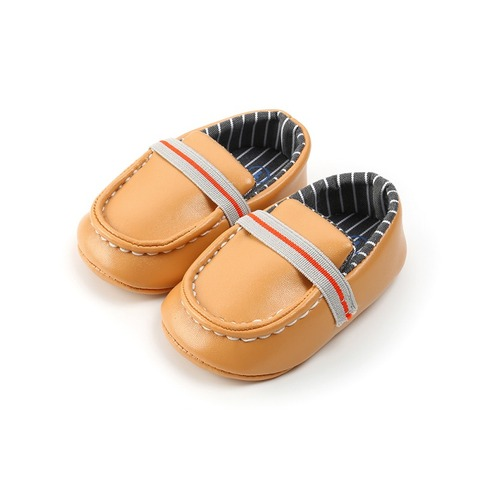 Baby The First Walker Shoes Baby Boy Shoes Newborn Casual PU Peas Shoes Soft Bottom Lazy Toddler Baby Boy Girl Shoes Islamabad
