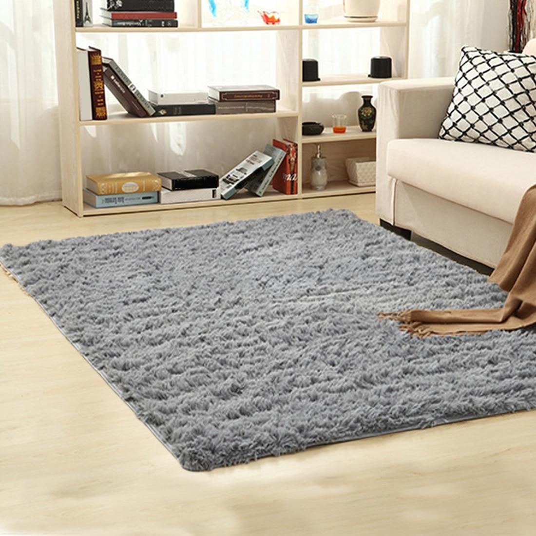 Домашний текстиль гостиная ковер Большие размеры коврик длинные волосы ковер спальни чайный столик ковер спальня коврик ковер современные...