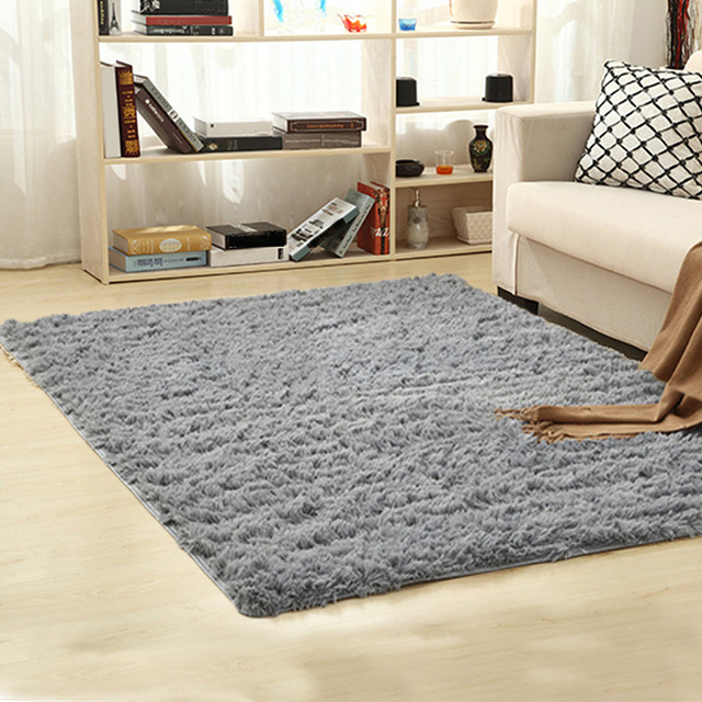 Soft Gy Carpet For Living Room European Home Warm Plush Floor Rugs Fluffy Mats Kids