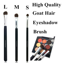 Profesional Eyeshadow Makeup Brush Goat Hair WoodHandle Make Up Eyeshadow Blending Brushes Kosmetik Alat Eye Nose Shadow Brush
