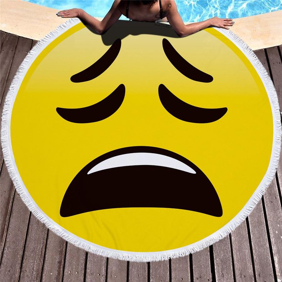 HTB1B9rRkiqAXuNjy1Xdq6yYcVXaM - Emoji Beach Microfiber Towel - MillennialShoppe.com | for Millennials