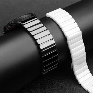 Image 3 - Dla huawei GT zegarek ceramiczny pasek SIKAI 22mm pasek dla honor magia ticwatch pro