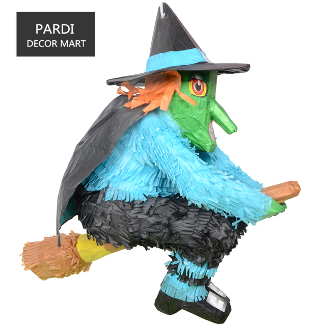 the halloween witch pinata kids birthday party beating props beating games party supplies halloween decoration