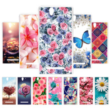 3D DIY Soft Silicone Case For Sony C3 Coque Xperia D2533 D2502 Cover Painted Cases Back Covers Fundas Housings