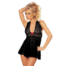 Feitong Women Sexy Lingerie Corset With G-string