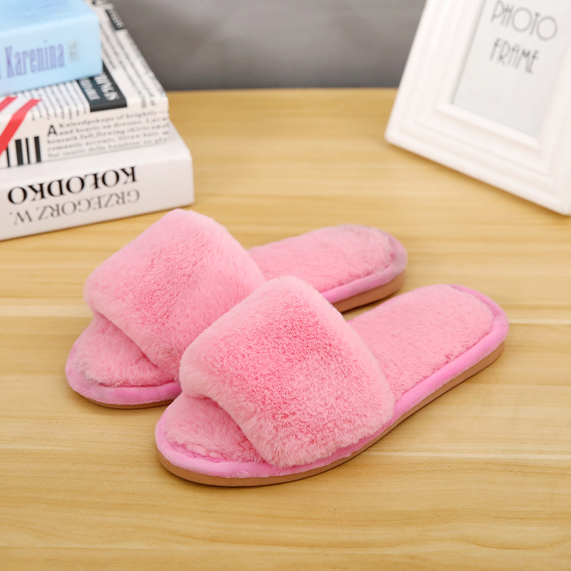 Drop Shipping Women Men Casual Winter Warm Slippers Soft Shoes For Boy&Girl Teenager With High Quality Simple Designer Hot Sale
