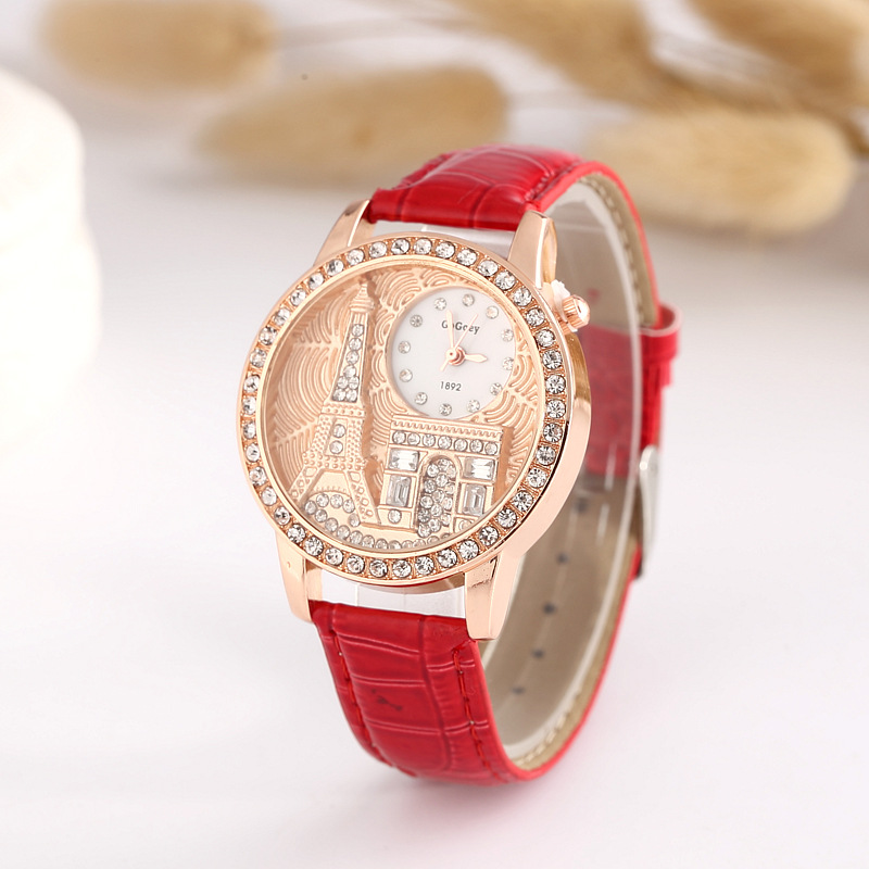 Women Watch Quartz Wrist Watch Retro Rainbow Design Casual Leather Band Ladies Bracelet Watches 2016 new ladies fashion watches decorative grape no word design gold watch stainless steel women casual wrist watch fd0107