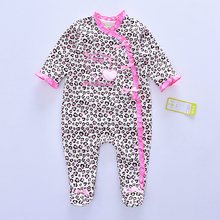 2019 Fashion Baby girl Romper Newborn rompers Baby Boy Girl Romper Long Sleeve Infant Jumpsuits Soft Cotton Baby Clothes Pajamas